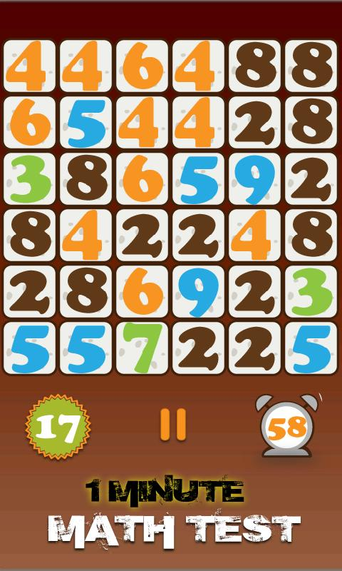 Math Game - screenshot
