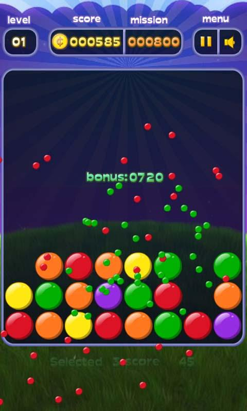 Bubble Burst Mania- screenshot