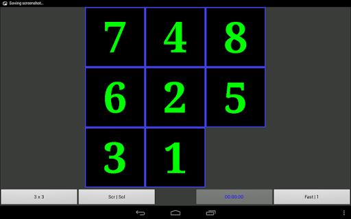 Slider Puzzle Number Tile Game