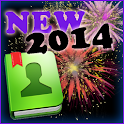 New Years Eve for GO Contacts icon