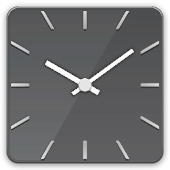 Square glass clock -Me Clock