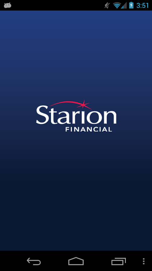 Starion Financial Mobile- screenshot