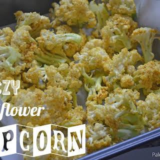"""Cheezy Cauliflower """"Popcorn""""."""