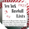 New York Baseball Lists (NYY) icon