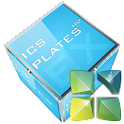 Next Launcher – 3D Cubed Glass logo