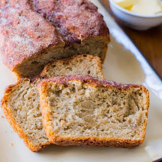 No Knead Honey Oat Bread.