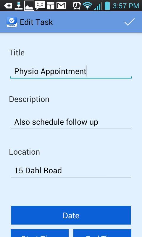 CarePartners Mobile- screenshot