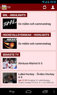 Sportbladet Hockey- screenshot thumbnail