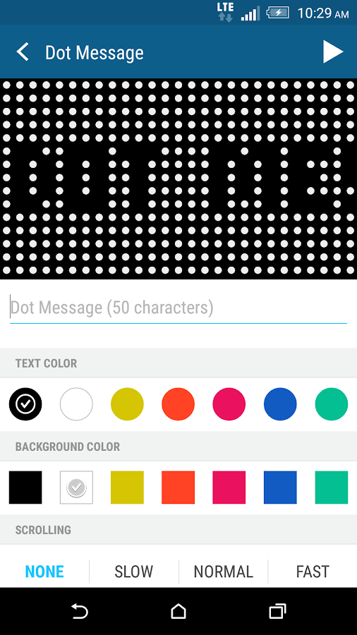 HTC Dot View - screenshot