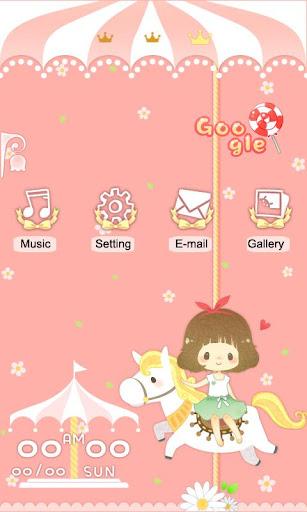 CUKI Theme Cute Girl's Dream