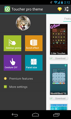 Toucher Pro Premium 1.24 APK