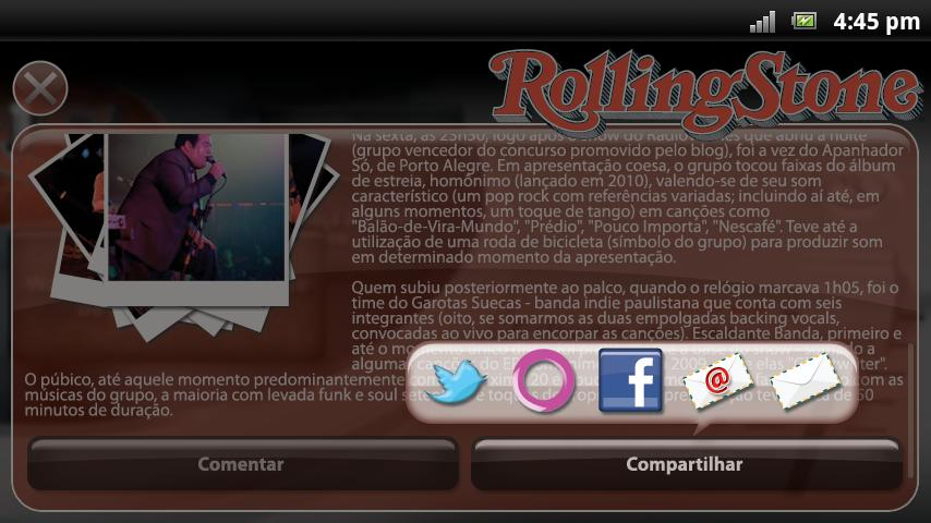 Rolling Stone - screenshot