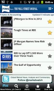 Jobs and News - screenshot thumbnail