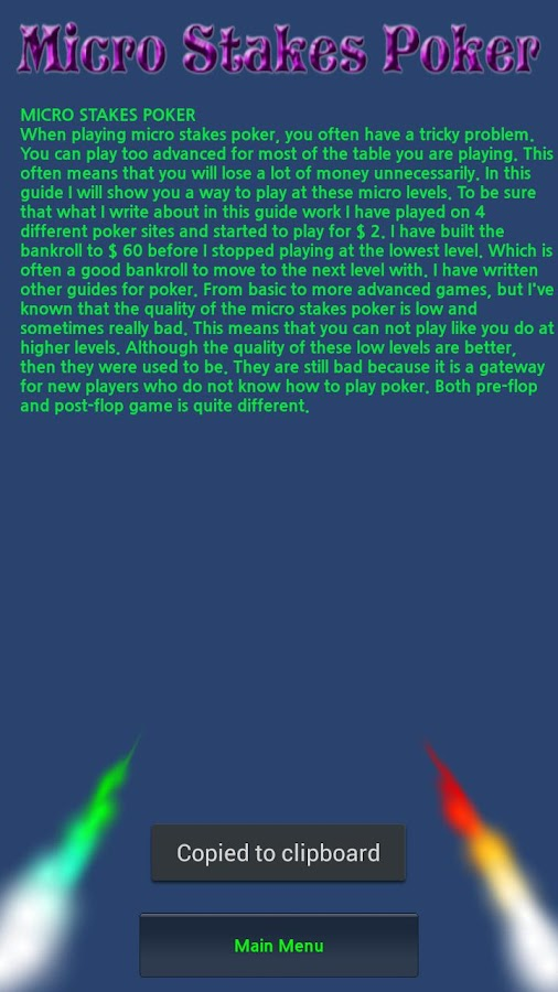 Best poker training site micro stakes