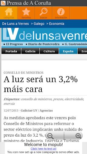 Prensa de A Coruña