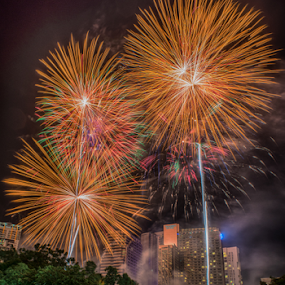 KLCC Firework by Alex Shanti - Public Holidays New Year's Eve ( klcc, firework, fireworks, night, malaysia, celebration, ny, , Urban, City, Lifestyle, new, year )
