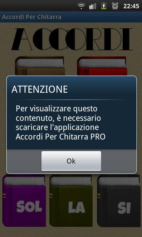 ACCORDI PER CHITARRA FREE - screenshot
