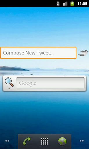 Tweeting Widget For Twitter