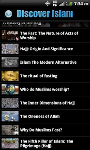Discover Islam- screenshot thumbnail
