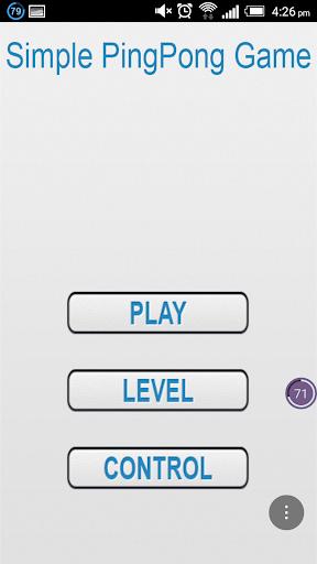 Simple PingPong Game