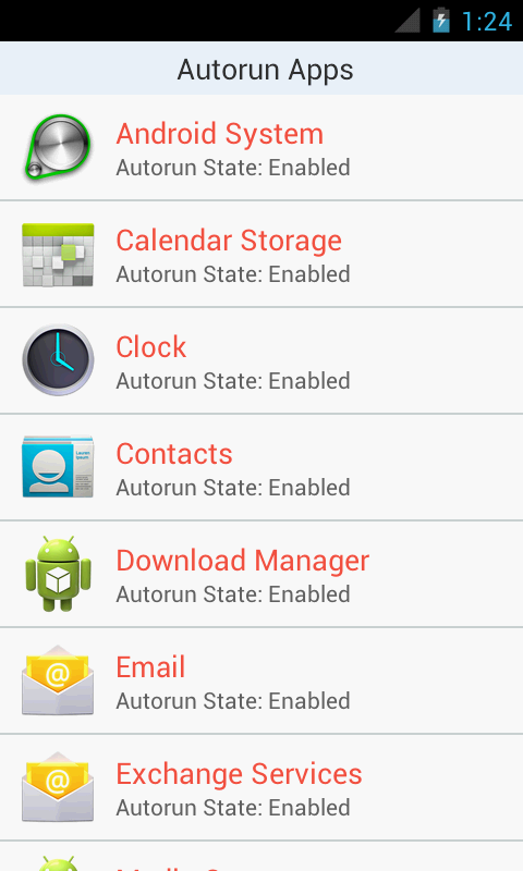 Autorun Manager Pro - screenshot