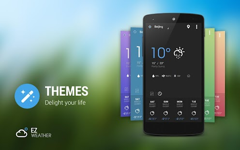 EZ Weather Widget HD Forecast - screenshot thumbnail