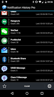 Notification History Pro- screenshot thumbnail