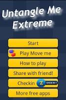 Screenshot of Untangle Me Extreme
