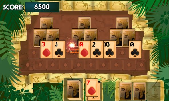PYRAMID SOLITAIRE Card Game APK screenshot thumbnail 1