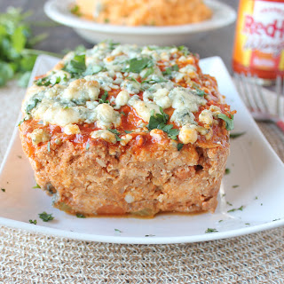 Blue Cheese Buffalo Chicken & Pork Meatloaf