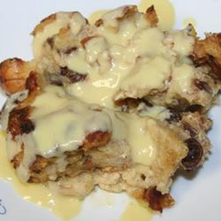 Bread Pudding with Whiskey Sauce III.