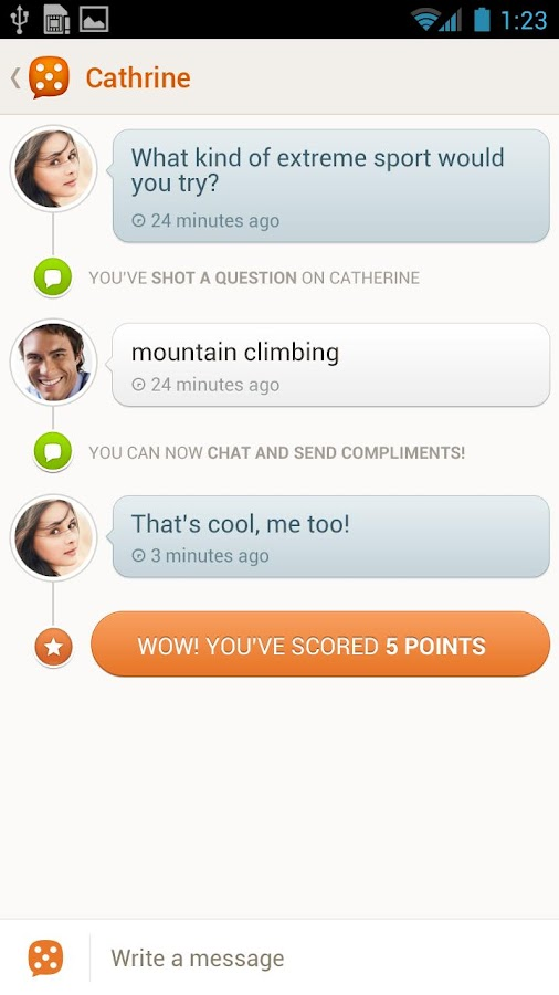 The Game - Dating App - screenshot