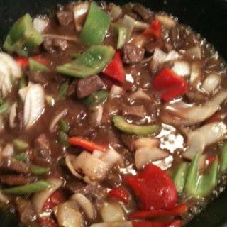 Black Bean Beef Stir Fry