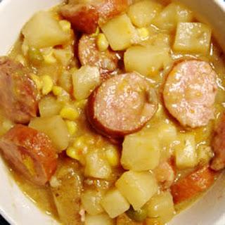 Sausage Potato Bake.