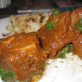 Black Pepper Goat Curry.