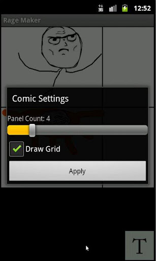 Rage Comic Maker screenshot