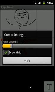 Rage Comic Maker- screenshot thumbnail