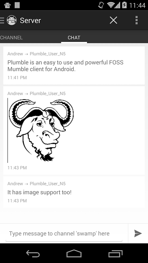Plumble Mumble Voip Free Android Apps On Google Play