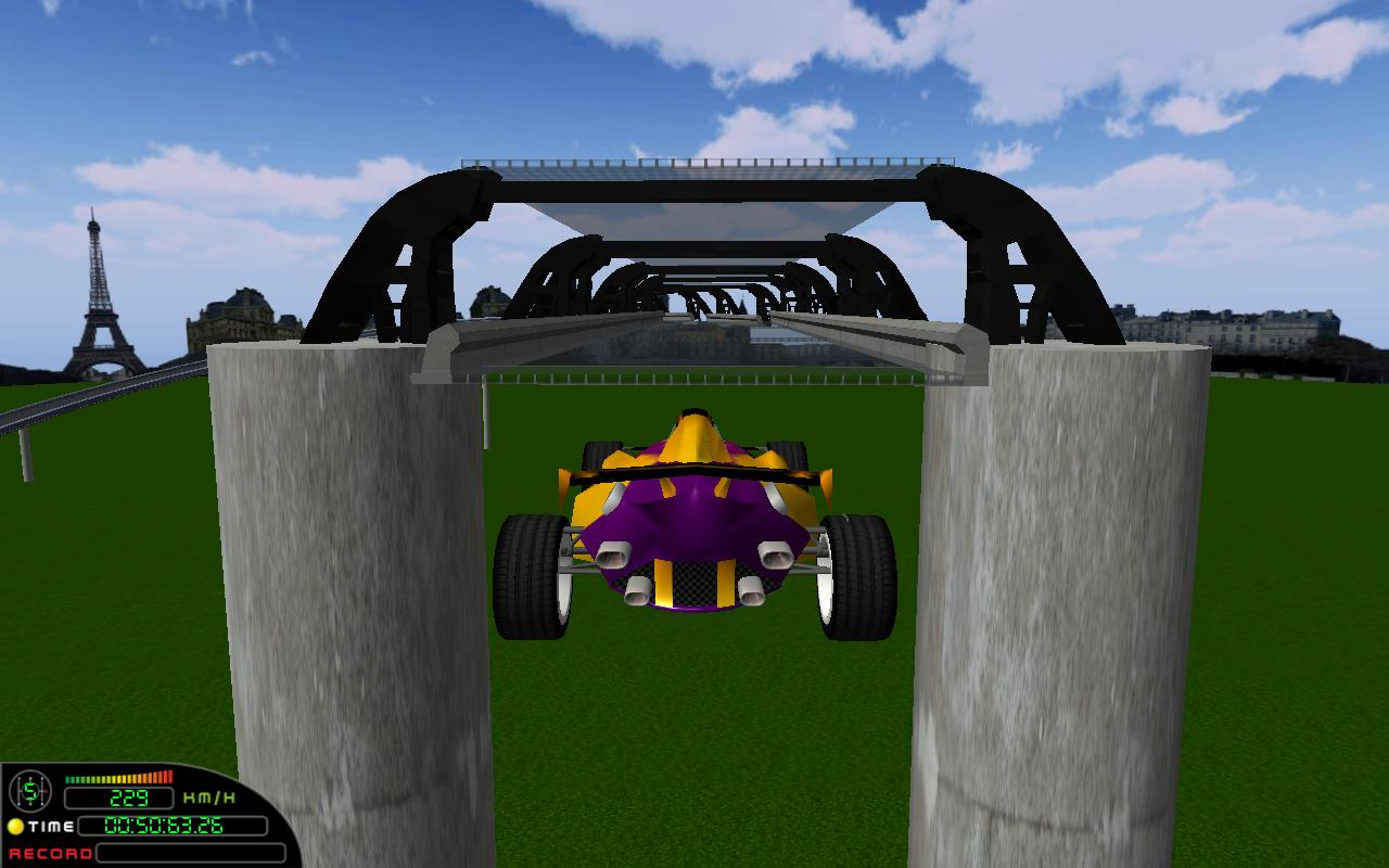 Speed on Racer 3D LITE- screenshot