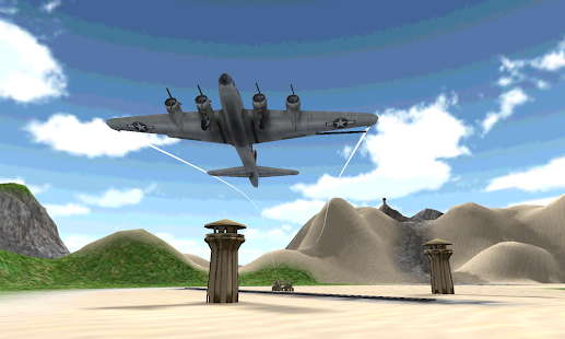 FLIGHT SIMULATOR: War Plane 3D- screenshot thumbnail
