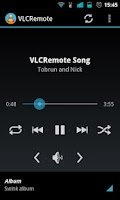 Screenshot of VLCRemote
