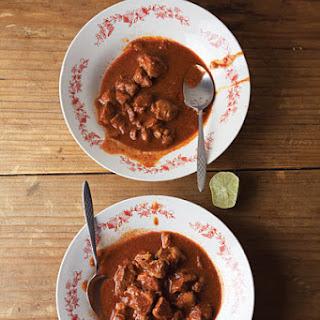 Asado de Bodas (Pork in Red Chile Sauce).