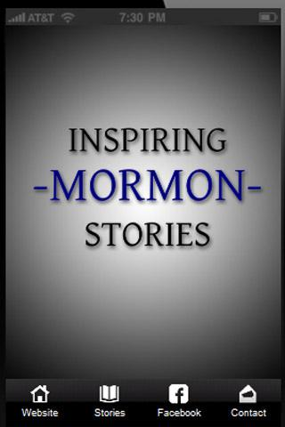 Inspirational Mormon Stories - screenshot