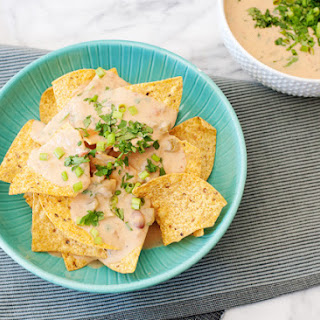 Slow Cooker Bean and Cheese Queso