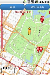 New York Amenities Map screenshot 2