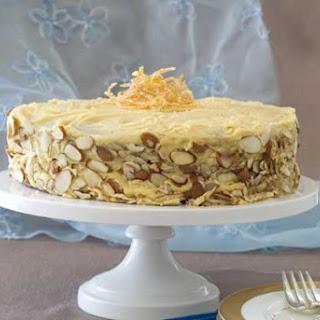 Gluten Free Almond Orange Cake.