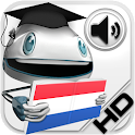 Dutch Verbs HD LearnBots logo
