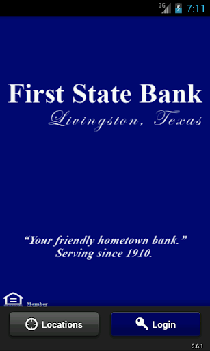First State Bank myMobile