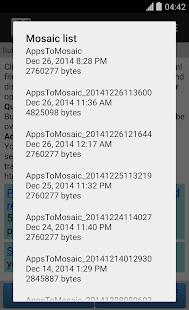 AppsToMosaic- screenshot thumbnail