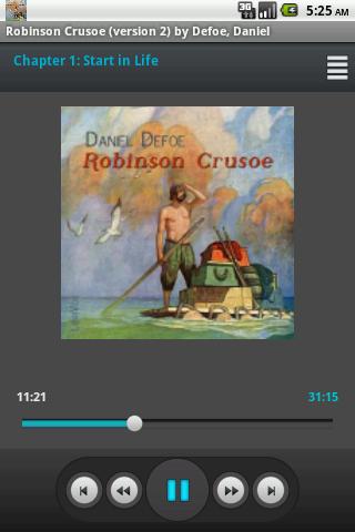 Audio Book: Robinson Crusoe